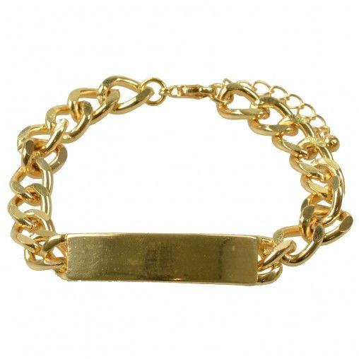 SACHA // Gold bracelet €5,95 #sachashoes #tag #subtle