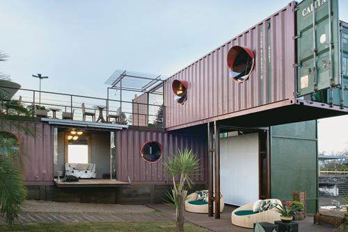 casas pré fabricadas contentores - Pesquisa do Google