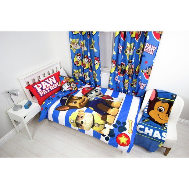 Buy Paw Patrol Pawsome Bedroom Set at Argos.co.uk - Your Online Shop for Children's bedding sets, Bedding, Home and garden.