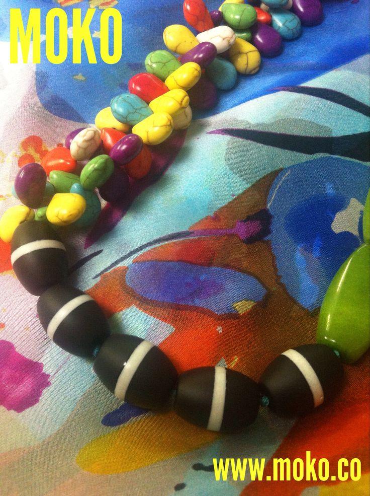 Moko handmade necklace  Summer 2015/16