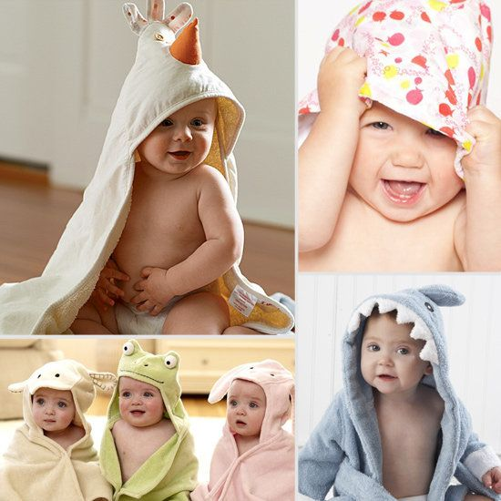 cute towels for baby bath time