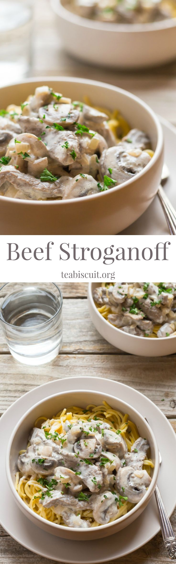 A very easy Paleo Beef Stroganoff, cooked in less than TEN minutes!! Perfect for a Weeknight Family Dinner!