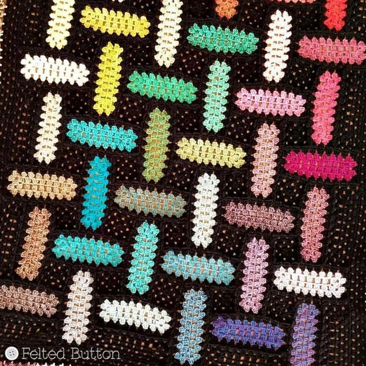 Warp and Weft Blanket Crochet pattern by Susan Carlson