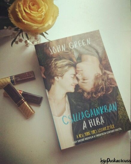 John Green - The fault in our stars (Csillagainkban a hiba)  Book