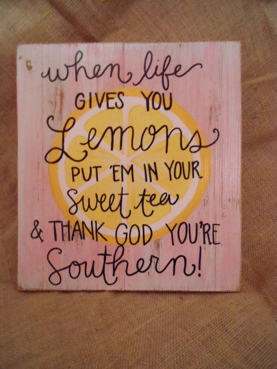 Hey, I found this really awesome Etsy listing at https://www.etsy.com/listing/185338788/sweet-tea-southern-quote-handpainted