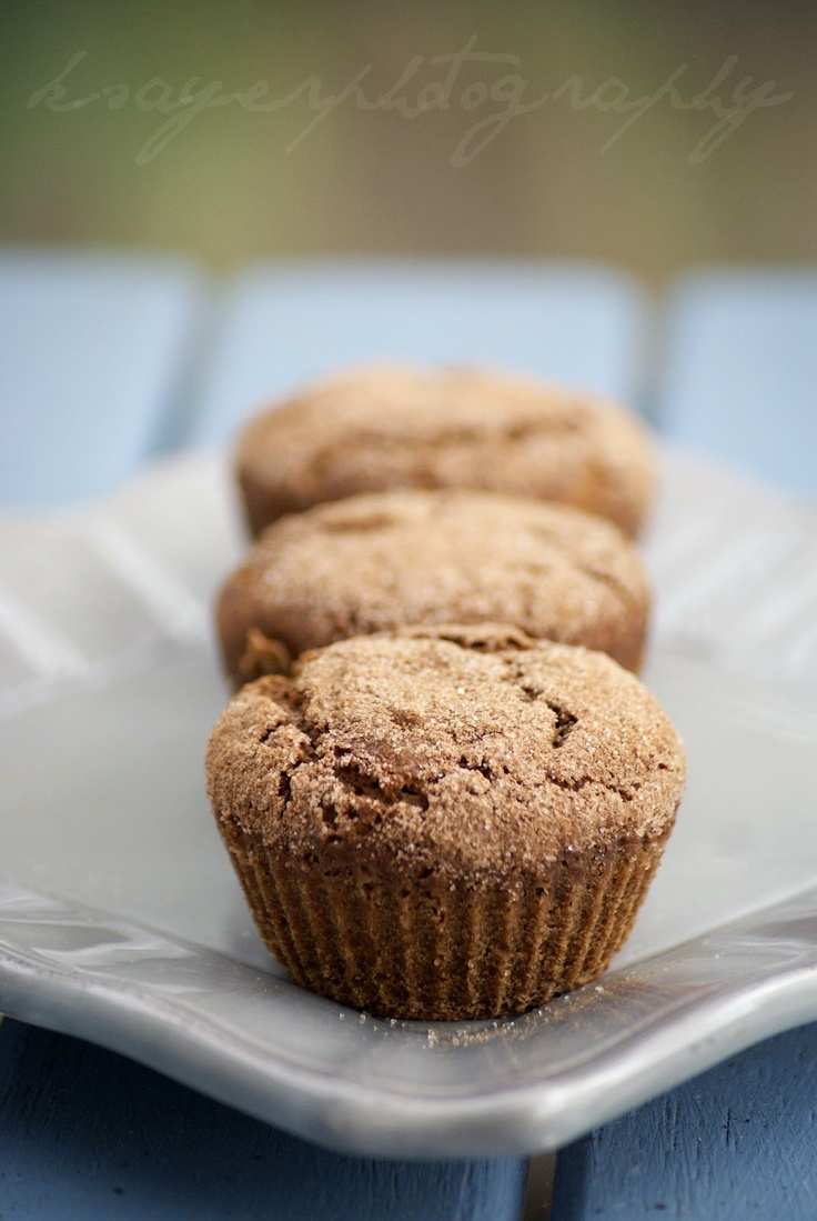 Healthy Gingerbread Muffins #Holidays #Christmas #Baking