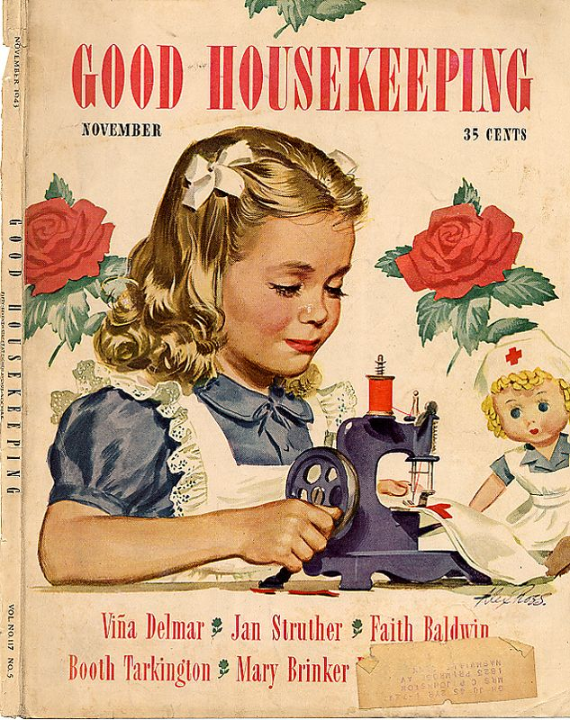 Vintage good housekeeping magazine good housekeeping for Old magazines
