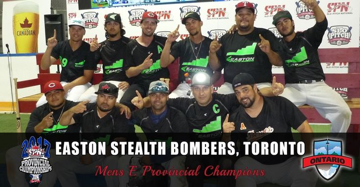 Congrats Mens E Provincial Champions Easton Stealth Bombers Toronto #spnontario #ProvincialPhotos       . Congrats to all the teams that participated. Big shout out to the organizers volunteers and umpires!! . Use #spnprovincials2017 to share your posts on Facebook Instagram and Twitter! #canada150 . @SPNOntario @SPNManitoba @SPNalberta @jonahevans01 @rabjohn32 @MikenSports @RawlingsSports @WorthSportsSP @mikencanada @worthcanada @Adam_Vella_ @molsoncanadian @jship1616 @tricialharrow…