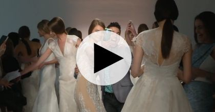 Brides: Watch: Rivini's Spring 2015 Bridal Runway Show