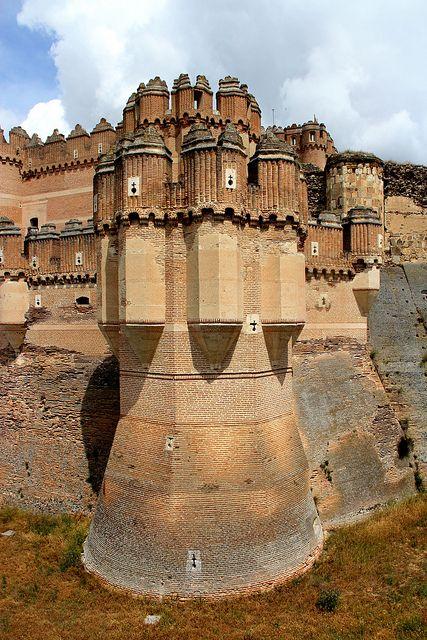 Castillo de Coca, Spain. http://traveloxford.blogspot.com/2014/01/castillo-de-coca-spain.html
