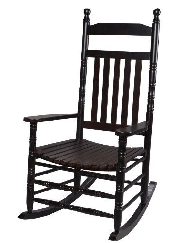 Gift Mark Deluxe Adult Rocking Extra Tall Back Chair, Espresso ...