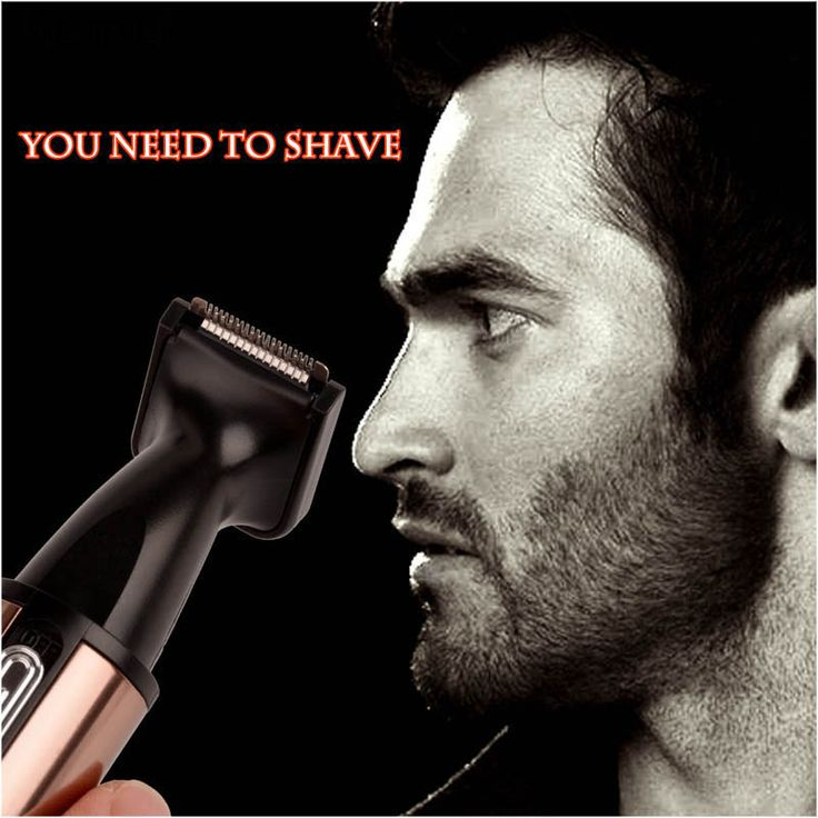 Kemei 3 In 1 Electric Nose Hair Trimer Shaver Blade Sideburns Razor Eyebrows Trimmer for Nose Cutter Personal Nose Hair Clipper