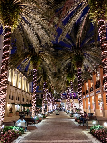 City Place At Night West Palm Beach Florida