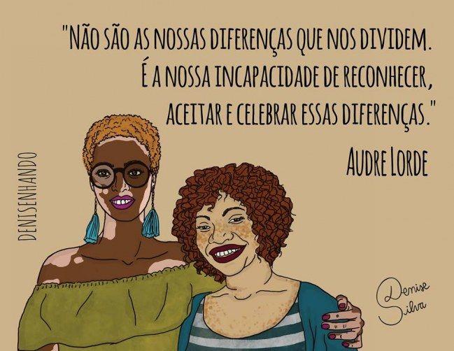 Denisenhando: ilustrações poderosas com mensagens feministas