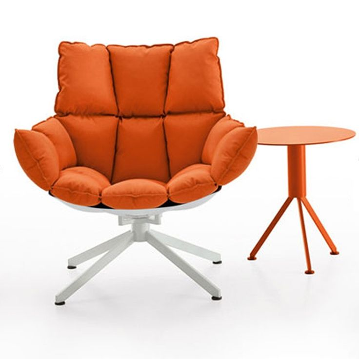 Bu0026B ITALIA   HUSK ARMCHAIR WITH ARMRESTS