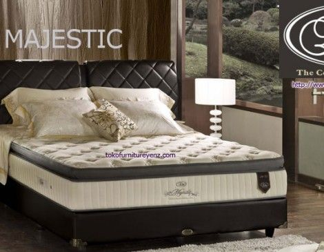 Elite Spring Bed MAJESTIC Premium Euro Top Spring Latex [medium firm] Matras/Kasur 31 cm,Divan Paris 32 cm,Sandaran Olive 140cm - See more at: http://www.tokofurnitureyenz.com/product/elite-spring-bed-majestic/