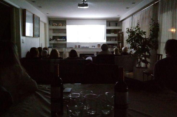 Hermoso encuentro en nuestro cine debate en Las Cañitas