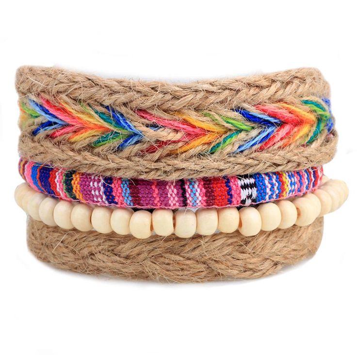 Natürlicher Look und tolle Farben kombiniert mit Hanf als Material für den perfekten, Style! #schmuck #tierschutz #style #fashion #armband #bracelet #bunt #colourful #jewelry #hanf #style4nature