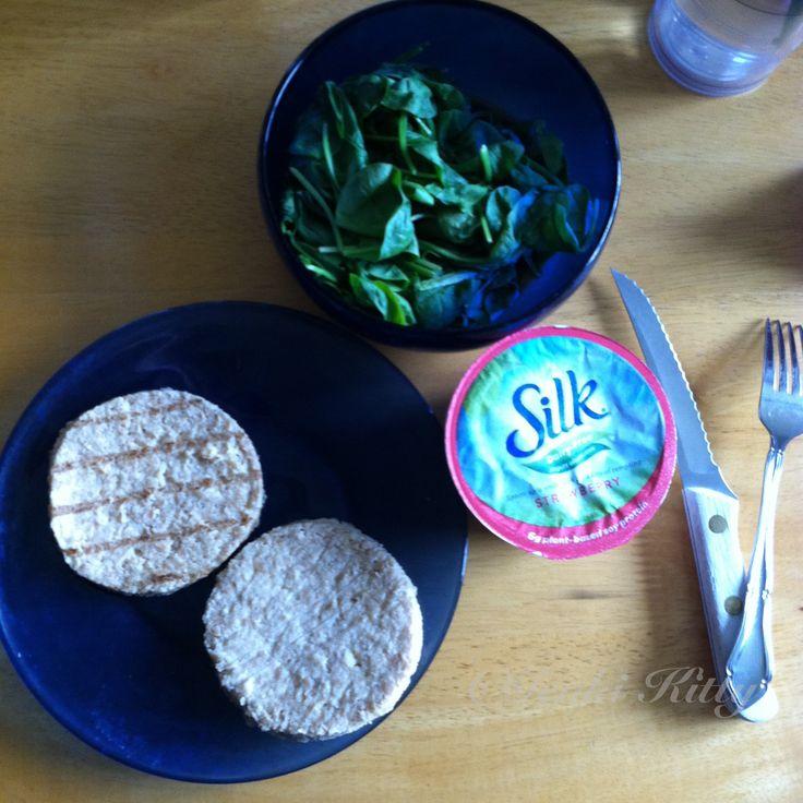 Vegan Boca Burger Lunch Idea