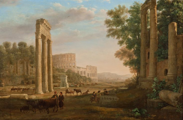Claude_Lorrain_-_Capriccio_with_ruins_of_the_Roman_Forum_-_Google_Art_Project.jpg (4978×3284)