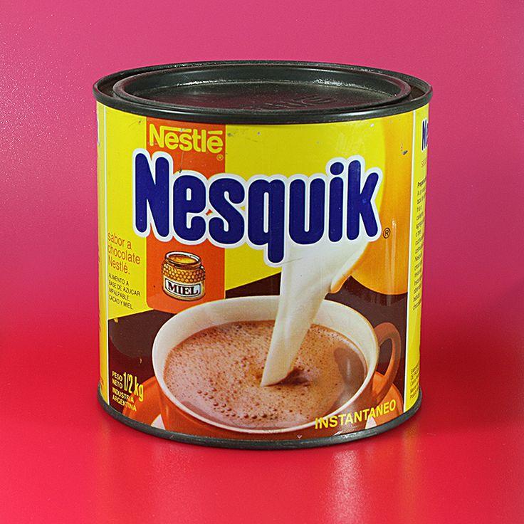 Lata de Nesquik, año 1988