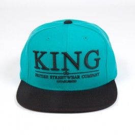 King Apparel crest select cap snapback - Sale. Before £25 now £17
