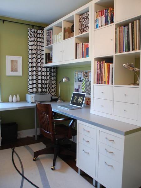 Best 25+ Corner office ideas on Pinterest   Basement office, Traditional  office and Hidden rooms
