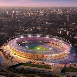 London Gets Ready for the Games: Olympic Park.    #london #olympics #whereblog
