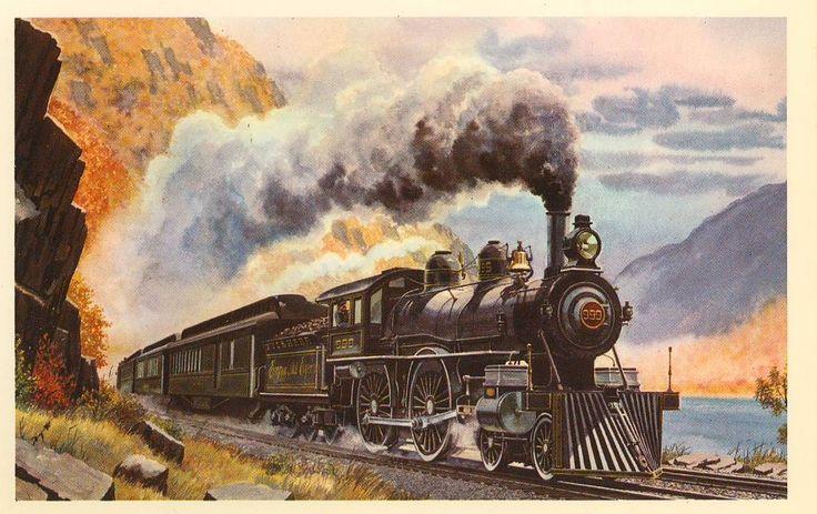 сильный аромат картинки с паровозами для декупажа роден был вторым
