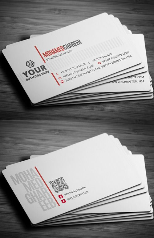 Professional Business Card www.Graphicview.net www.facebook.com/Graphicviewlhr