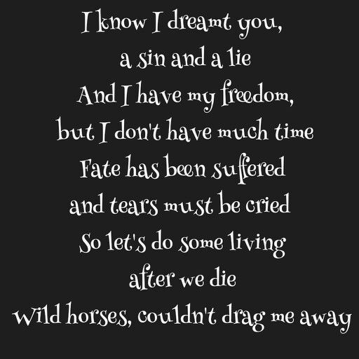 The Rolling Stones - Wild Horses Lyrics | MetroLyrics