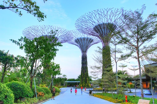 Garden By The Bay by Harsono Chin -  Click on the image to enlarge.