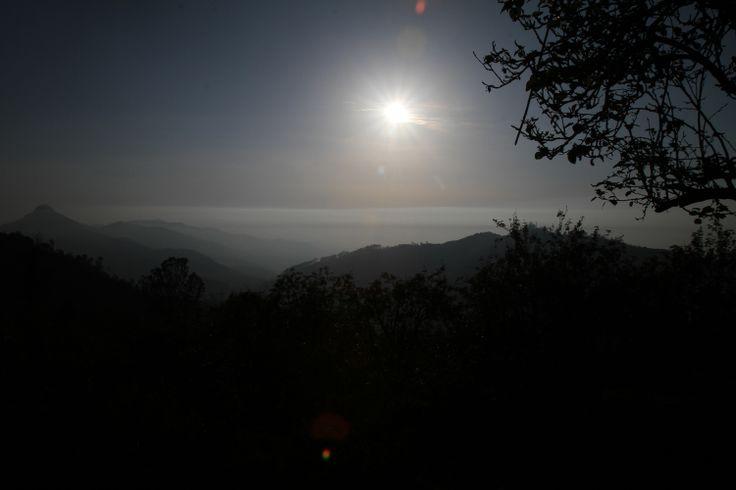 Sunrise amidst the Kodaikanal Hills