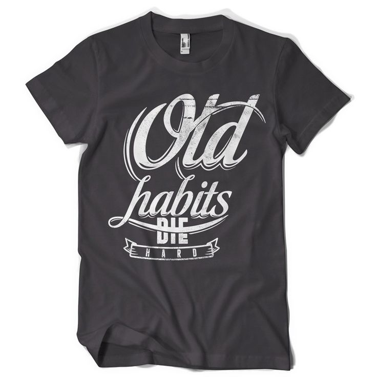 25 best ideas about typography t shirt on pinterest for Be creative or die shirt