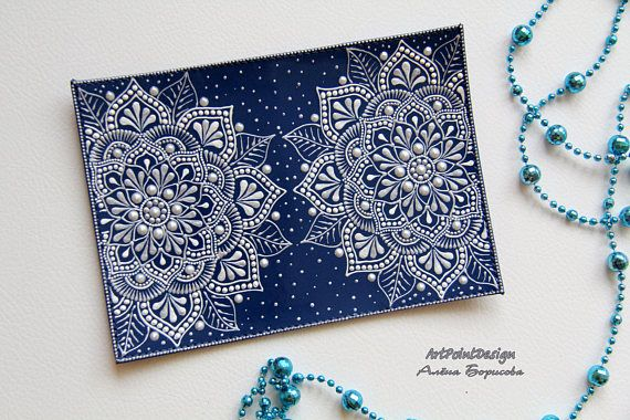 Passport coverwith mandalas Gifts for her Cute Passport