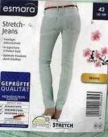 Damen Jeans grün mint Größe 42 Mode Trendy  Sommer Elastan Röhre OVP NEU Stretch