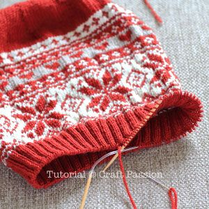 Fair Isle Beanie - Free Knitting Pattern | Craft Passion – Page 2 of 2