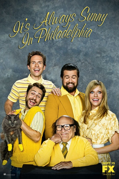It's Always Sunny in Philadelphia - Friends eat your heart out...a genuinely funny American comedy.