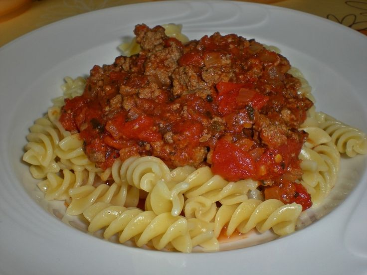 Schnelle Bolognese Sauce