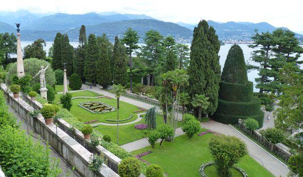 jardin d'Isola bella-ile borromée du lac majeur