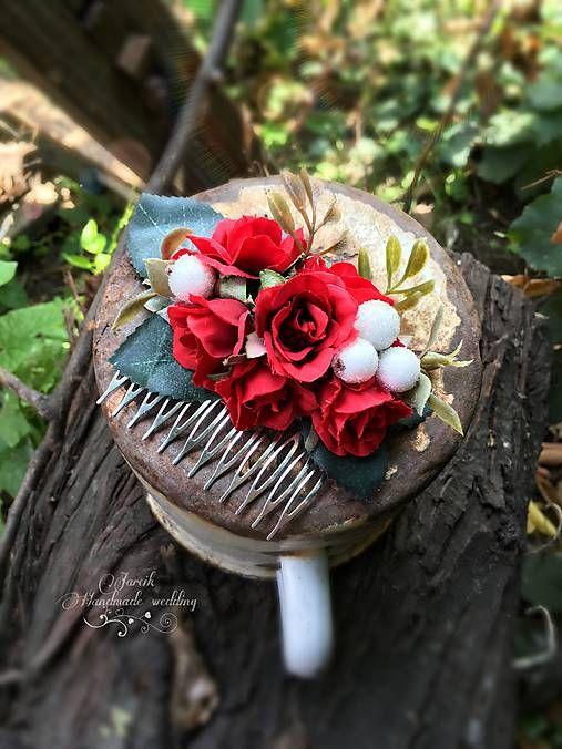jarcik / Hrebienok červená ruža