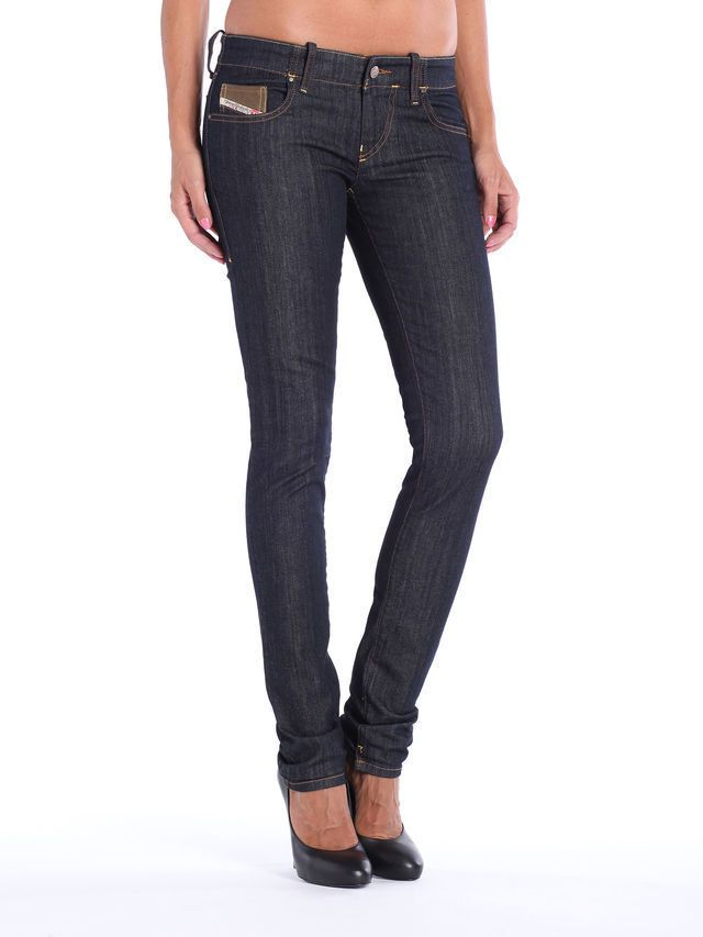 87a89144 new DIESEL GRUPEE 0881K low rise skinny leg JEAN W28 L32 size uk 10 ladies  women