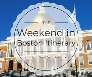 The insiders guide to spending a weekend in Boston. Follow this popular 2 day itinerary and save off these top Boston attractions.
