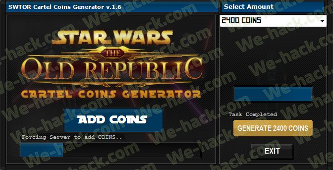 Swtor Cartel Coins Free - we-hack.com - Home of Hacks