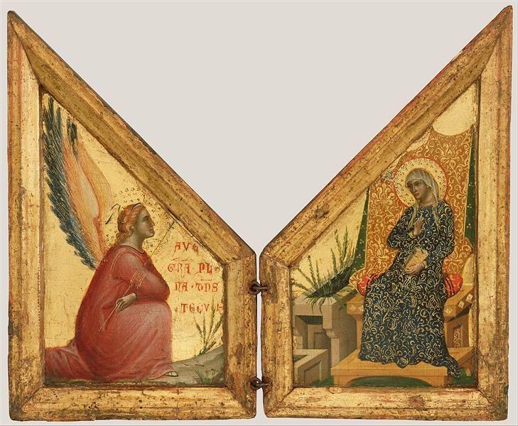 The Annunciation, 1350 - Paolo Veneziano