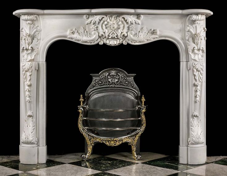 25 best Antique Rococo Chimneypieces images on Pinterest | Rococo ...