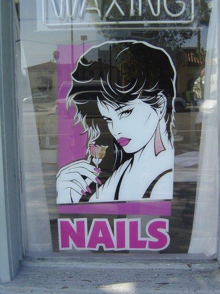 80s salon posters  Google Search  Patrick Nagel Knock