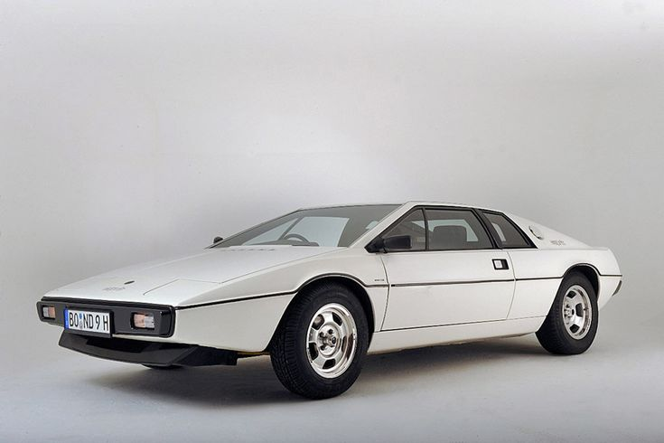 Lotus Esprit S1 (Giorgetto Giugiaro). I always found it funny that the person who designed this was also responsible for some of the designs in my Nikon collection.