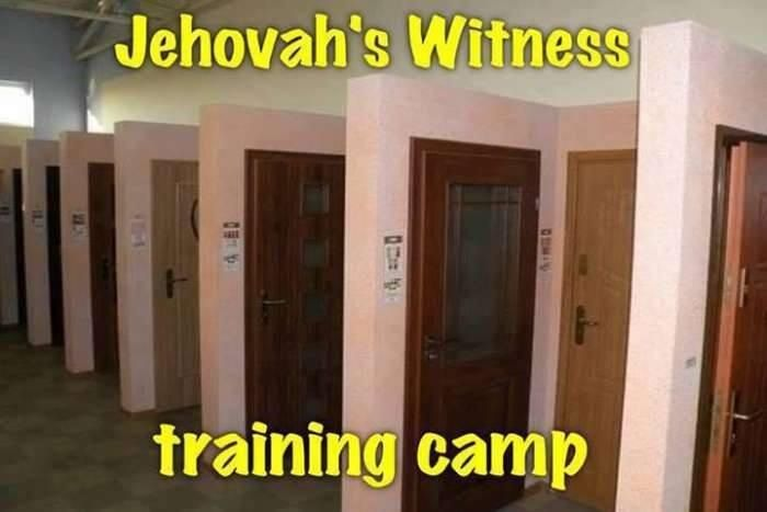 Jehovah S Witness Toy : Jehovah s witness training camp truth in humor