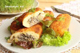 Smakołyki Asi: Krokiety ziemniaczane z pieczarkami